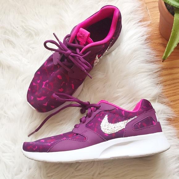 Nike   Kaishi Purple Leopard Print sneakers